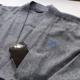 unisex long overcoat kodama apparel melbourne streetwear