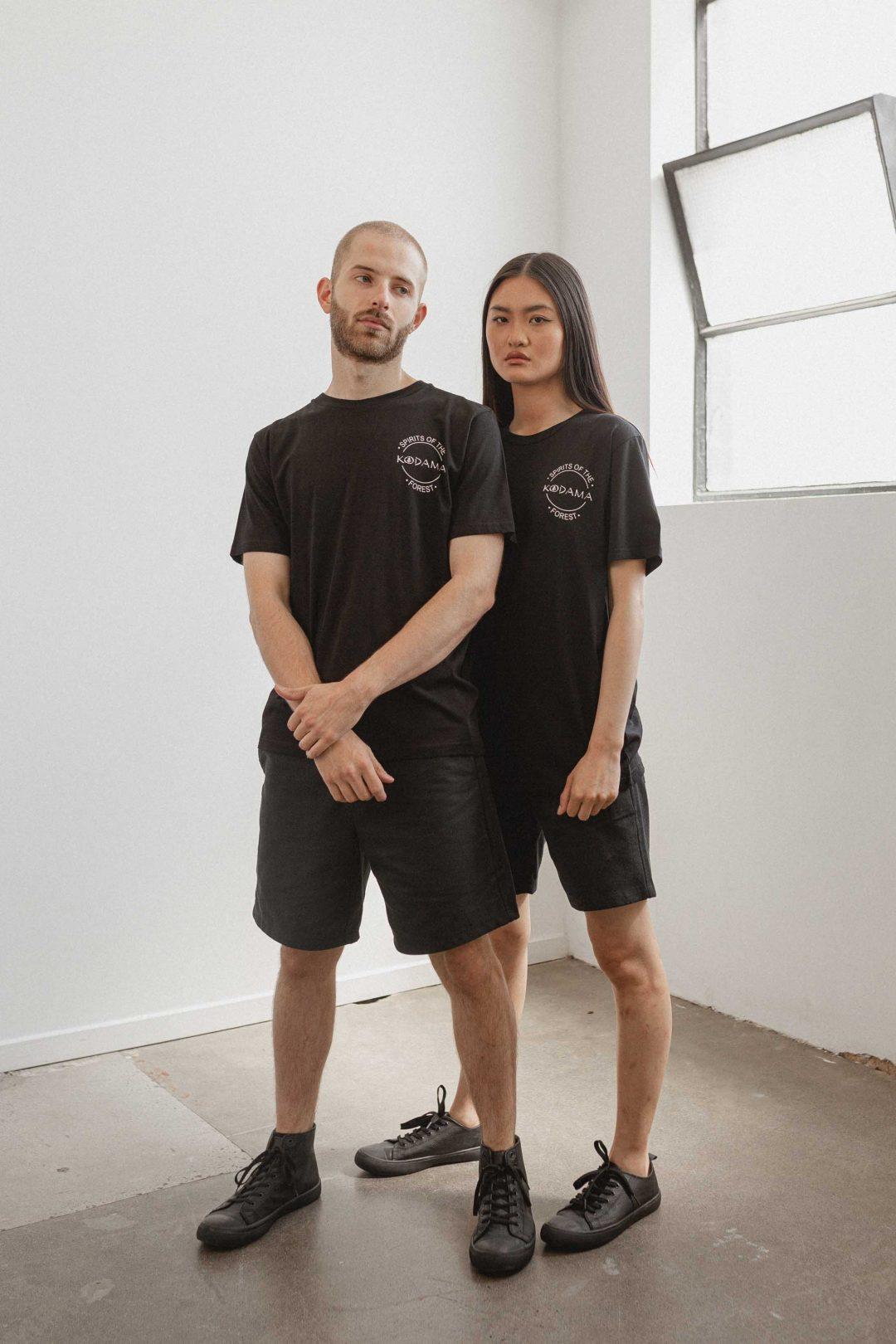 kodama apparel - kdm classic tee black2