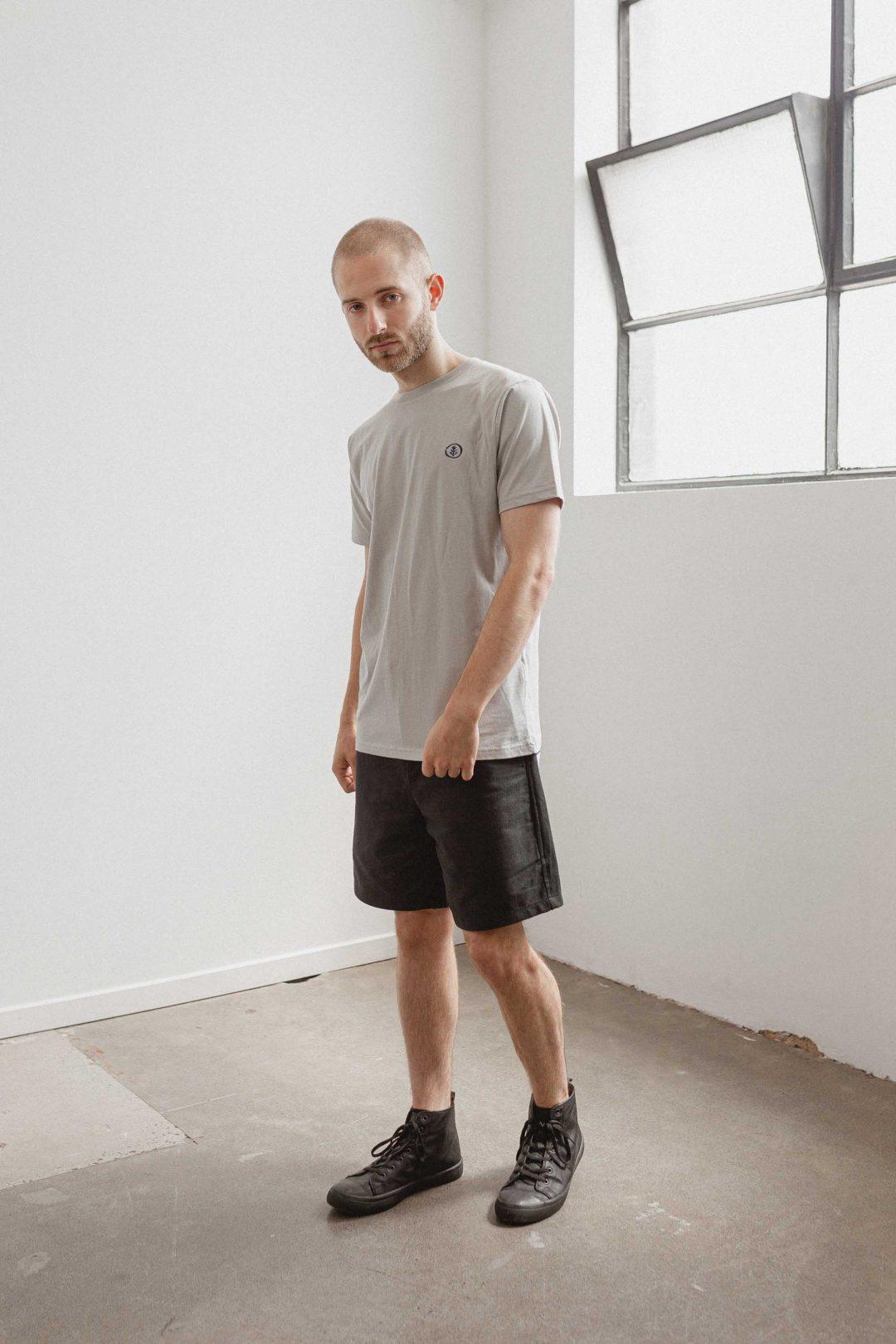 kodama apparel - zen t shirt grey1