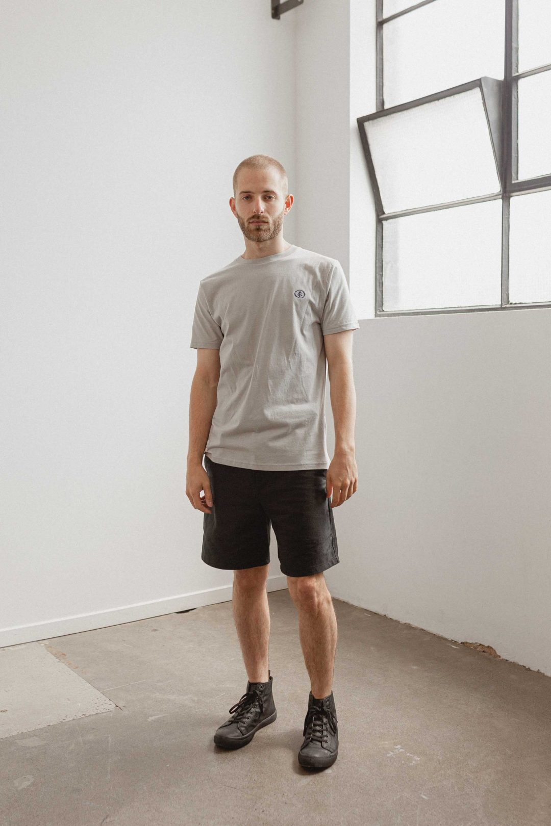 kodama apparel - zen t shirt grey2