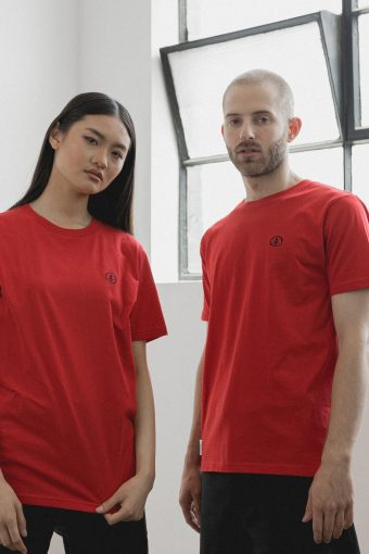 kodama apparel - zen t shirt red3