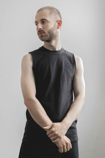 kodama apparel - hankai muscle tee black1
