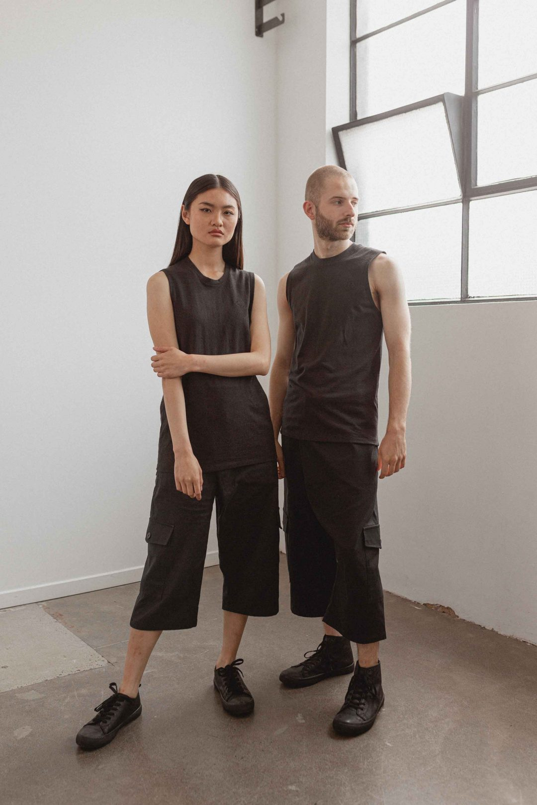 kodama apparel - hankai muscle tee black2