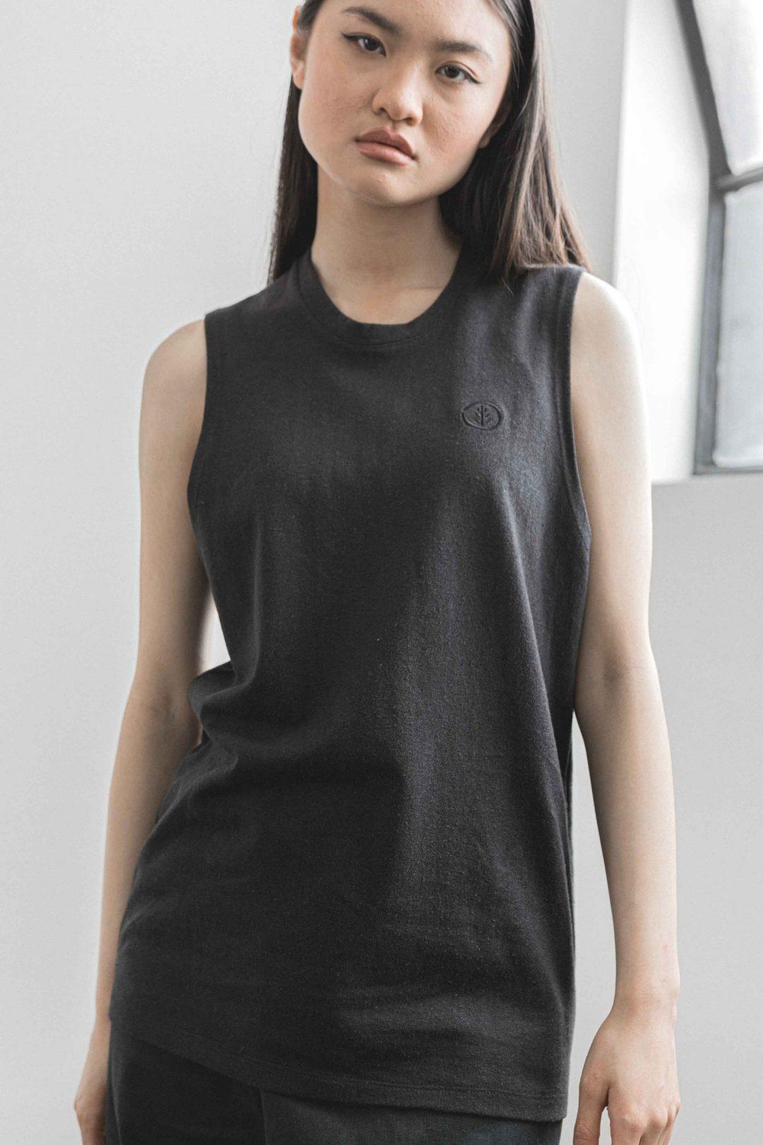 kodama apparel - hankai muscle tee black6