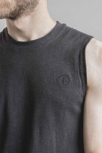 kodama apparel - hankai muscle tee black9