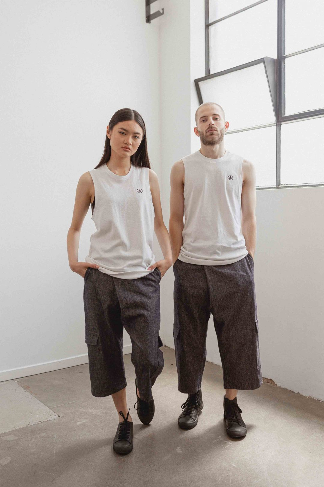 kodama apparel - hankai muscle tee white2