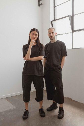 kodama apparel - hankai oversized tee black7