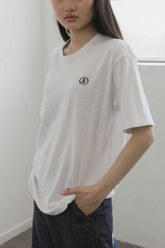 kodama apparel - hankai oversized tee white8