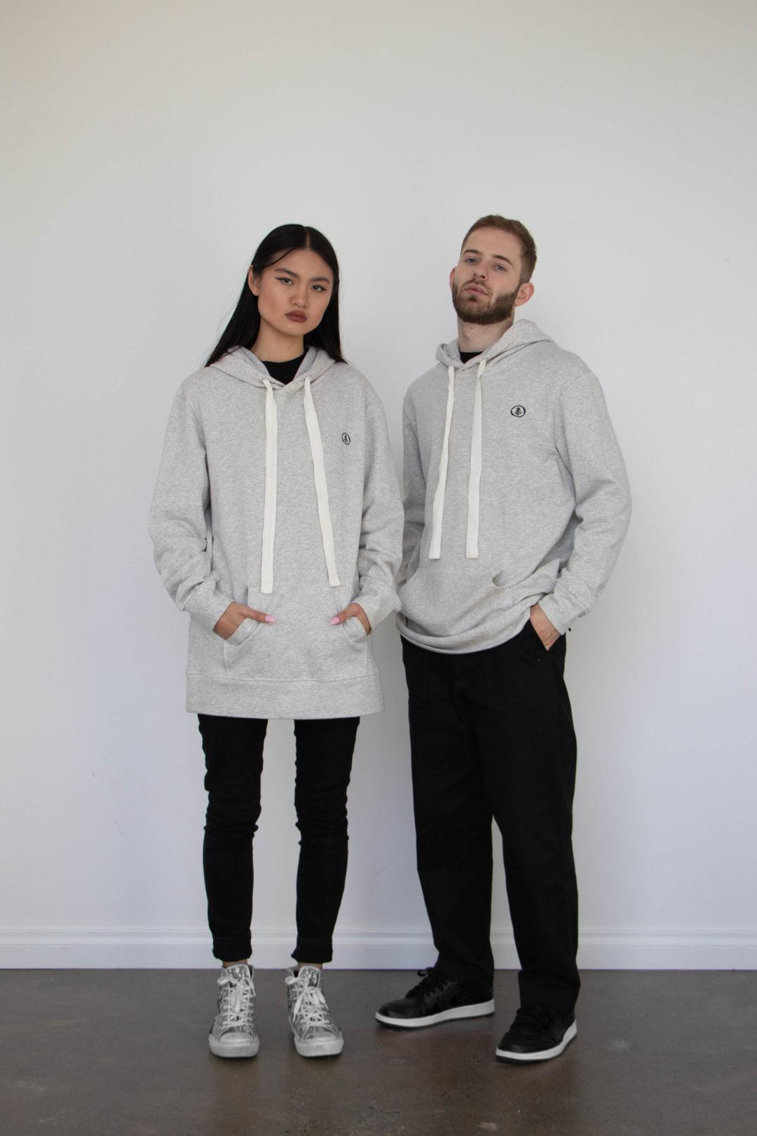australian made organic cotton hoodie